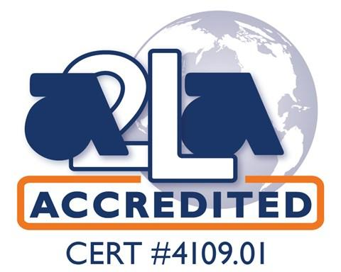Accredited Certificate Number 4109.01